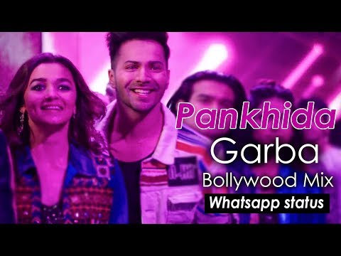 Pankhida oho Pankhida | Bollywood mix Garba || Navratri Whatsapp status video | Swag Video Status