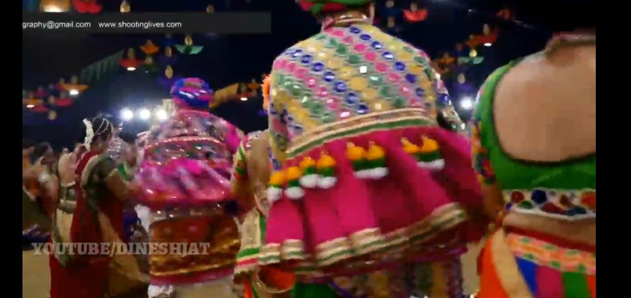 Kum Kum Kera pagle Madi Garbe Ramva Aav | Navratri Special video Status | Swag Video Status