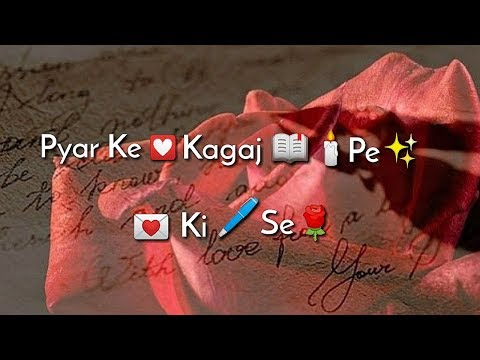 Pyar me kagaj pe WhatsApp Status Video | Swag Video Status