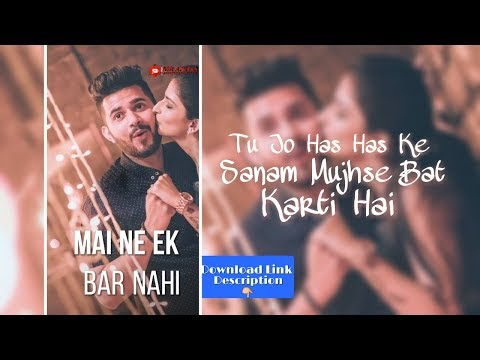 Maine ek Bar Nahi Bar Bar Dekha he  | Old Song Full Screen Whatsapp Status | Swag Video Status