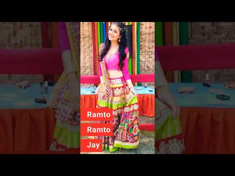 Ramto Ramto Jay aaj Mano Garbo | Navratri special WhatsApp Video - Garba WhatsApp Status video | Swag Video Status