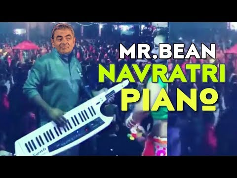 Mr bean :- Funny Navratri Piano WhatsApp Status | Mr.bean Navratri WhatsApp Status | Swag Video Status