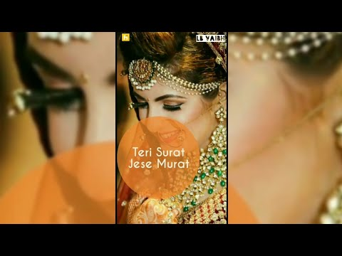 Teri Surat Jaise Murat | Full screen status romantic || full screen status new | Swag Video Status