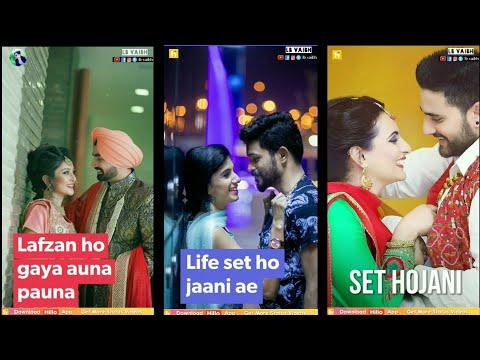 Aake aithe mere kole baith |Full screen status love || full screen status new | Swag Video status