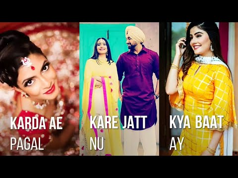 Tera Kajal Karde Pagal | Ho Sake Toh Rehna - Full Screen What'sapp Stutas || New Full Screen What'sapp Stutas | Swag Video Status