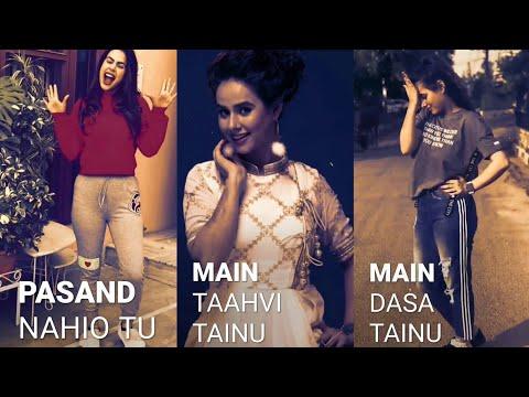 Meri Mummy Nu Pasand Nahio Tu - Full Screen What'sapp Stutas | Girls Attitude Full Screen Stutas | Swag Video Status
