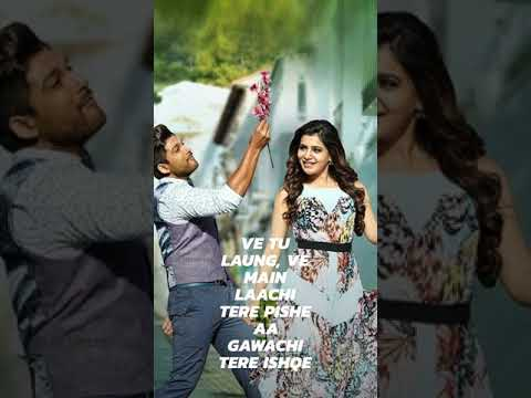 Full Screen Whatsapp Status Video || Sandli Sandli Naina whatsapp status|Full Screen|laung laachi | Swag Video Status