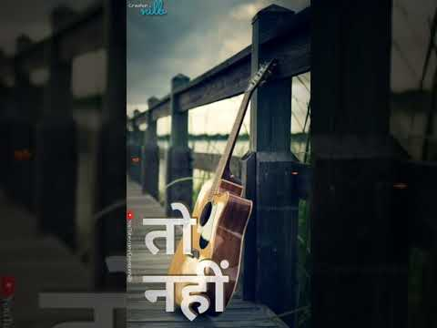 Tere Bina Full Screen Whatsapp Status Video | Swag Video Status