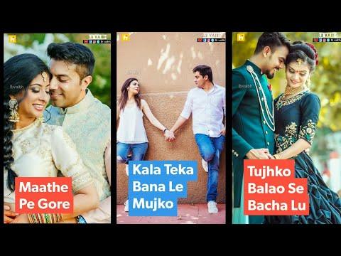 Mathe Pe Gora Kala Teka Bana Le Mujko | Full screen status love || full screen status new | Swag Video Status