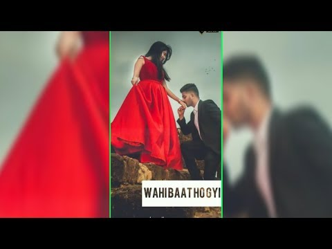 Khai He Aaj Humne Rub ki kasam | Full screen status romantic || full Screen status new | Swag Video Status