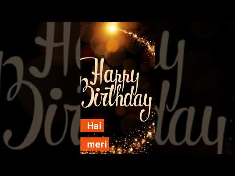 Sare Jahan ki khushi ho teri | Happy birthday status full screen WhatsApp status | Swag Video Status
