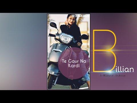 Billian billian Akhan |New romantic full screen status | Full Screen whatsapp status | Swag Video Status