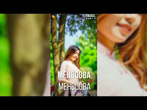 O Meri mehbooba full screen status || full screen status love | Swag Video Status