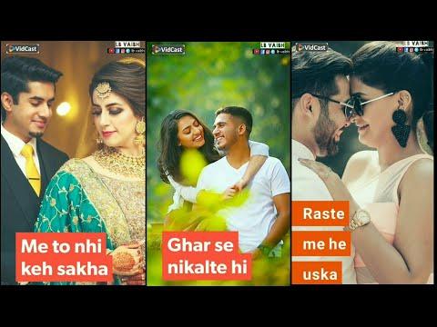 Rahte He dil me Mere Kaise Batau Use |Full screen status Romantic || Full screen status New | Swag Video Status
