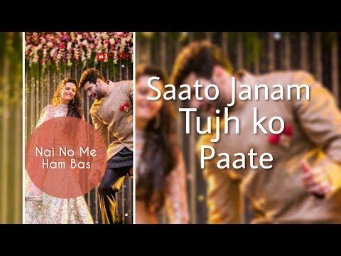 Saato Janam Tujh Ko Pate Gori Tere Old Song Full Screen Whatsapp Status | Swag Video Status