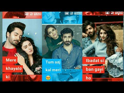 Dil Zaffran Full Screen Whatsapp Status | Tum Aaj Kal Meri Full Screen Status | Swag Video Status