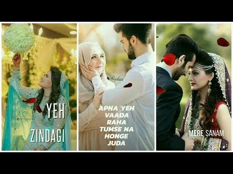 Mere Sanam Teri Kasam | Happy wedding anniversary Romantic full screen WhatsApp status | Swag Video Status