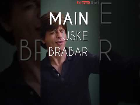 Zero Best Dialogue Srk Full Screen WhatsApp Status Video | Swag Video Status