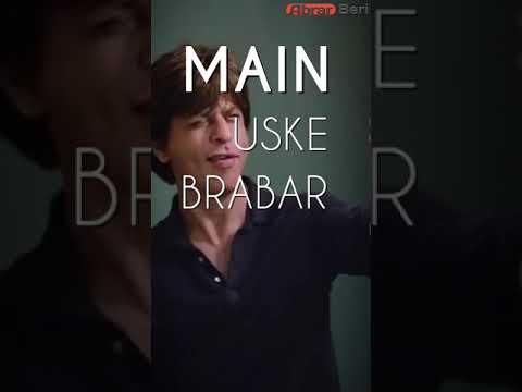 Zero Best Dialogue Srk Full Screen WhatsApp Status Video | Swag Video Status