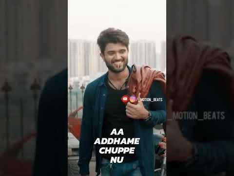Arare Puduhthu Modhale | Taxi wala | full screen lyrical video| whatsapp status | Swag Video Status