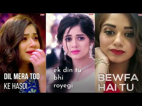 Sad full screen WhatsApp Status | bewfa hai tu | Swag Video Status
