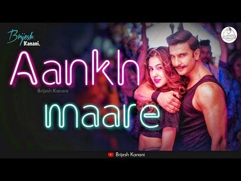 Aankh Marey Whatsapp Status | Simmba | Ranveer Singh | Aankh Marey Status | New Whatsapp Status 2019 | Swag Video Status