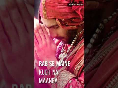 Tujhse Pehle Tujhse Zyada | Ft.Ranveer & Deepika | Full Screen Video | Swag Video Status