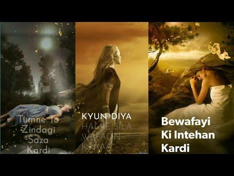 Sila Wafaon Ka | Humne Aisi Bhi Kya Khata Kardi | Full Screen Status Sad | Dard Status Swag Video Status