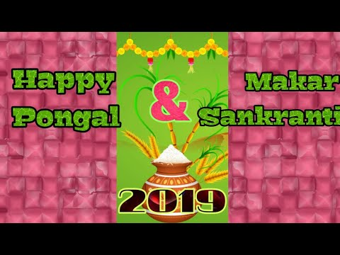 Makar sankranti lyrics | Latest Pongal and Makar Sankranti Full Screen WhatsApp Status | Swag Video Status