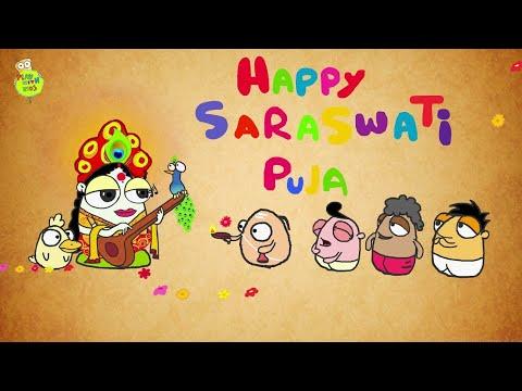 Saraswati puja Whatsapp status video maa saraswati |goddess saraswati | saraswati vandana saraswathi | Swag Video Status