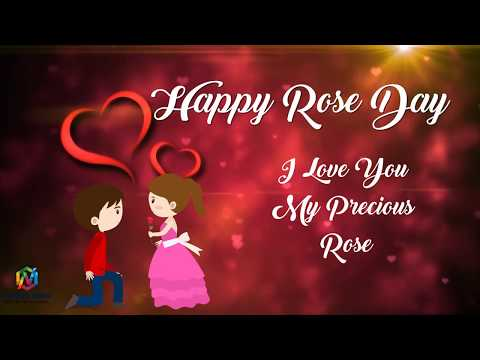 Happy Rose Day | whatsapp status | cartoon animation | rose day propose | Swag Video Status