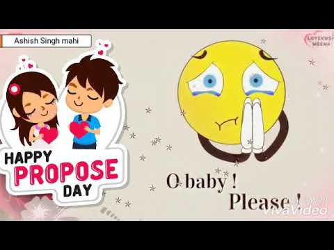 O Baby Please | Happy propose day special WhatsApp status 2019 | Swag Video Status