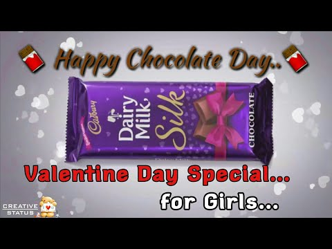 Happy Chocolate Day Whatsapp Status Video | Valentine Day week | Chocolate Day Love Status | Swag Video Status