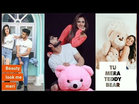 Girls status|| mai teri barbie girl tu mera teddy bear|| full screen whatsappstatus video | Swag Video Status