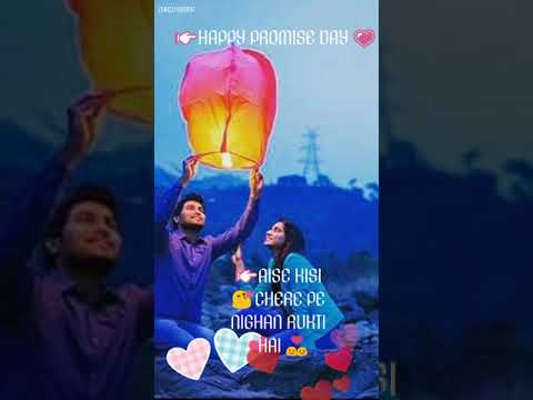 Jaise Parvat Pe Jatah | Happy promise day | Valentine Weeks Song | Swag Video Status