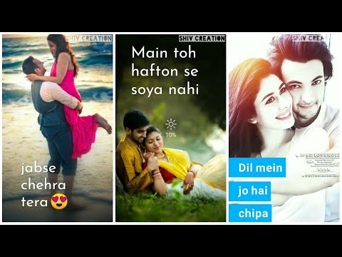 Bol Do Na Zara | New Full Screen Whatsapp Status 2019 | Romantic Status | Swag Video Status