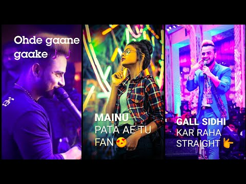 Mainu Pata Hai Tu Fan | Full Screen Whatsapp Status || Millind gaba || She don't know WhatsApp Status Video | Swag Video Status