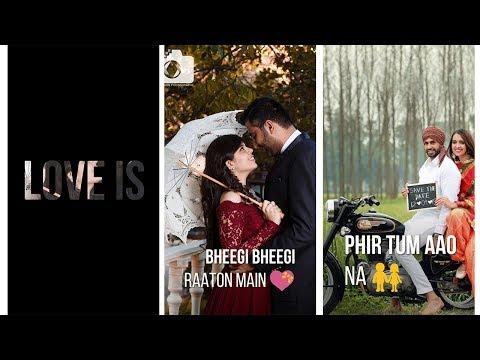 Bheegi Bheegi Raaton Main | Valentine day Special Status, full screen status love, valentine day 2019 | Swag Video Status