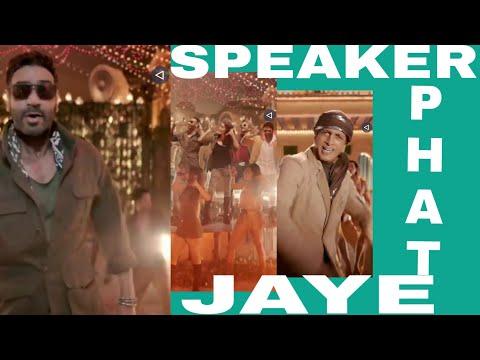Speaker phat Jaye | Total dhamaal new song | full screen WhatsApp status | Swag Video Status