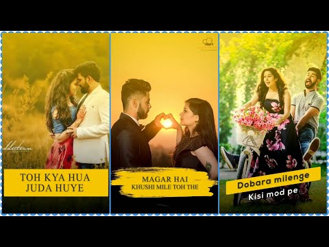 To Kya Hua |New Full Screen Whatsapp Status 2019 | Love Sad Status | New Song Status 2019  | Swag Video Status
