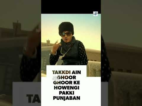 Nakhre Te Nakara Bhaaru | Punjabi Full Screen WhatsApp Status | J Star Hulara | Swag Video Status