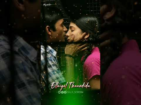 Engeye Parthiraani | Dhanush love WhatsApp Status | Tamil full screen WhatsApp status | Swag Video Status