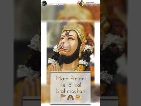 Mata Anjani Ke Lal |Hanuman full screen WhatsApp status | Swag Video Status