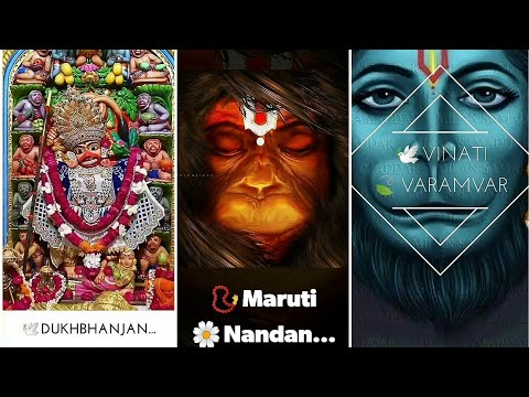 Pavansut vinti varmvar | Jay Hanuman New WhatsApp Status full screen 2019 | Swag Video Status