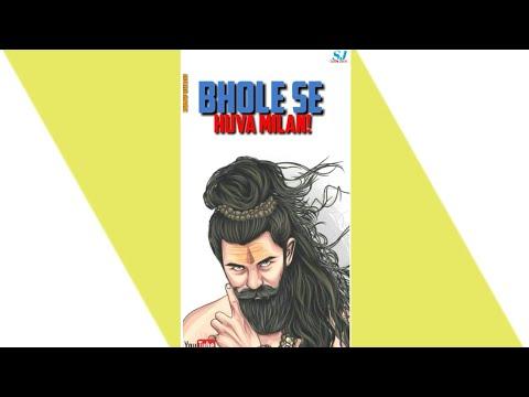 Mann Laga Hai Bhole Mein |Full Screen Status | Maha Shivratri Special | Swag Video Status