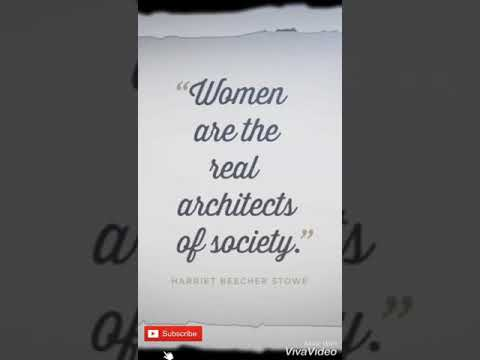 Women are the real architect | Full Screen Status : Happy Women's Day Whatsapp Status 2019 | Swag Video Status