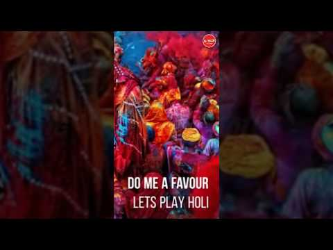 Lets Play Holi | Holi spacial || Holi full screen video || holi WhatsApp Status | Swag Video Status