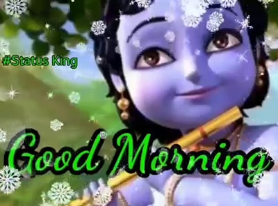Good Morning Krishna Flute