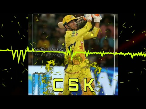 Csk ipl dj remix whatsapp status| ipl whatsapp status 2019 | Bleak screen status | Swag Video Status