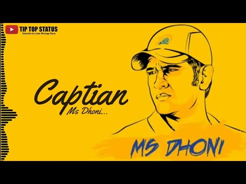 Csk - Latest Whatsapp Status | Dhoni | Chennai Super Kings | Ipl 2019 | Whatsapp Status Video 2019 | Swag Video Status